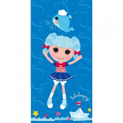 Mona Liza полотенце Lalaloopsy (Лалалупси) Синяя куколка арт.508993/1 50х90см .