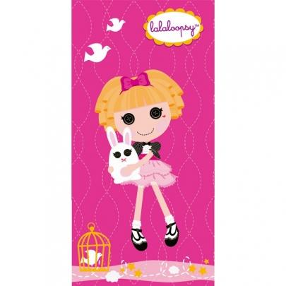 Mona Liza полотенце Lalaloopsy (Лалалупси) Розовая куколка арт.508993/2 50х90см.