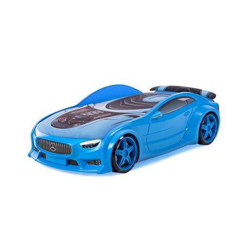 Futuka kids кровать-машина NEO Мерседес (синий)
