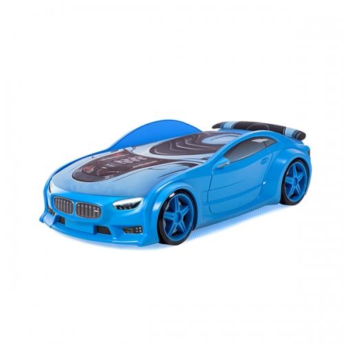 Futuka kids кровать-машина NEO БМВ (синий)