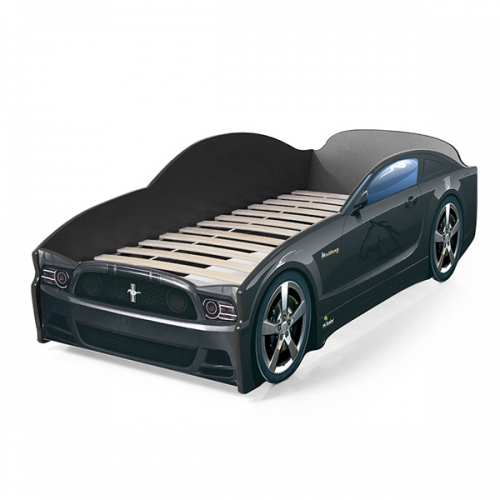 Futuka kids  кровать- машина LIGHT Мустанг (цвет черный)