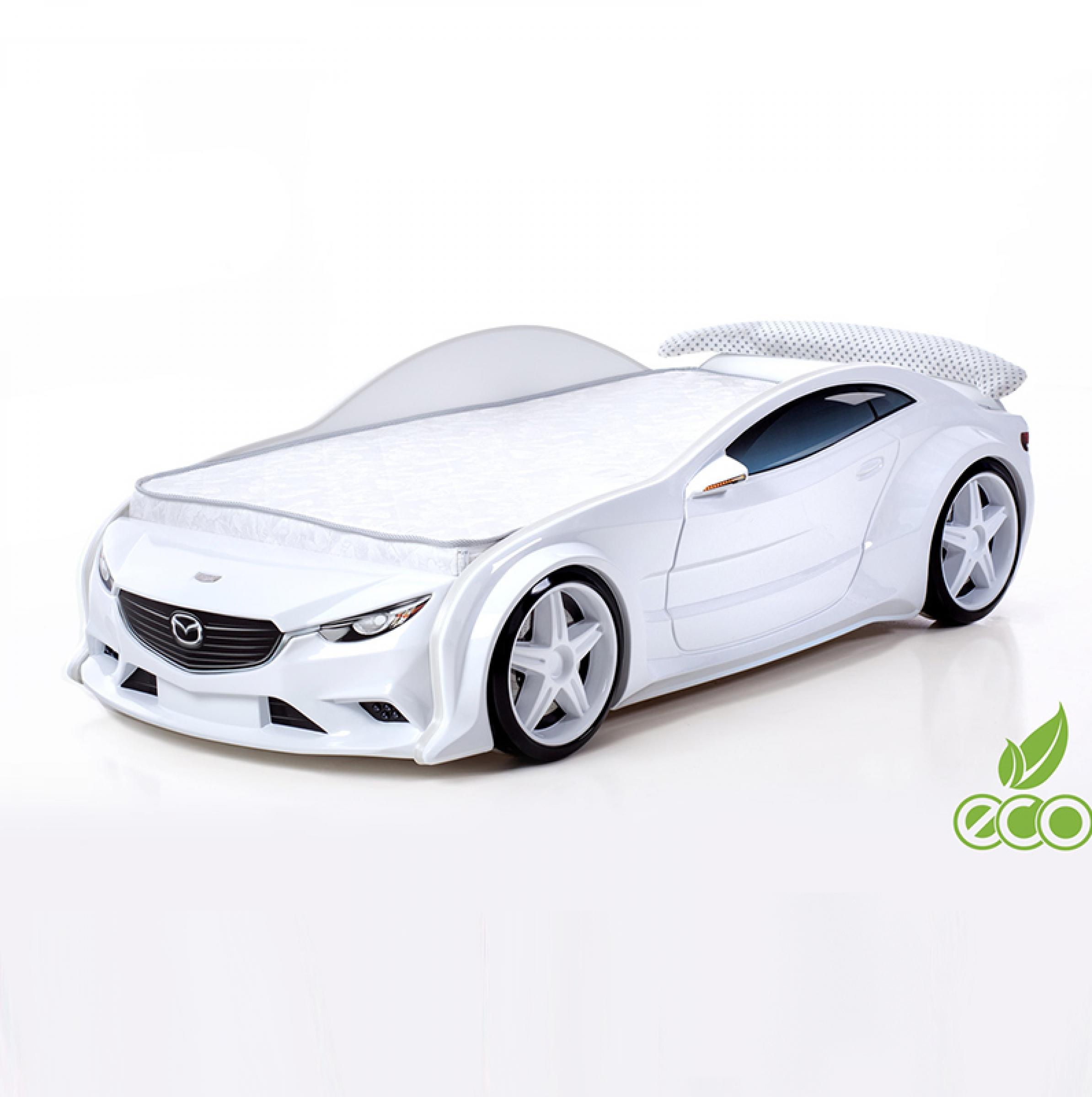Futuka Kids кровать-машина Мазда-EVO (белый)
