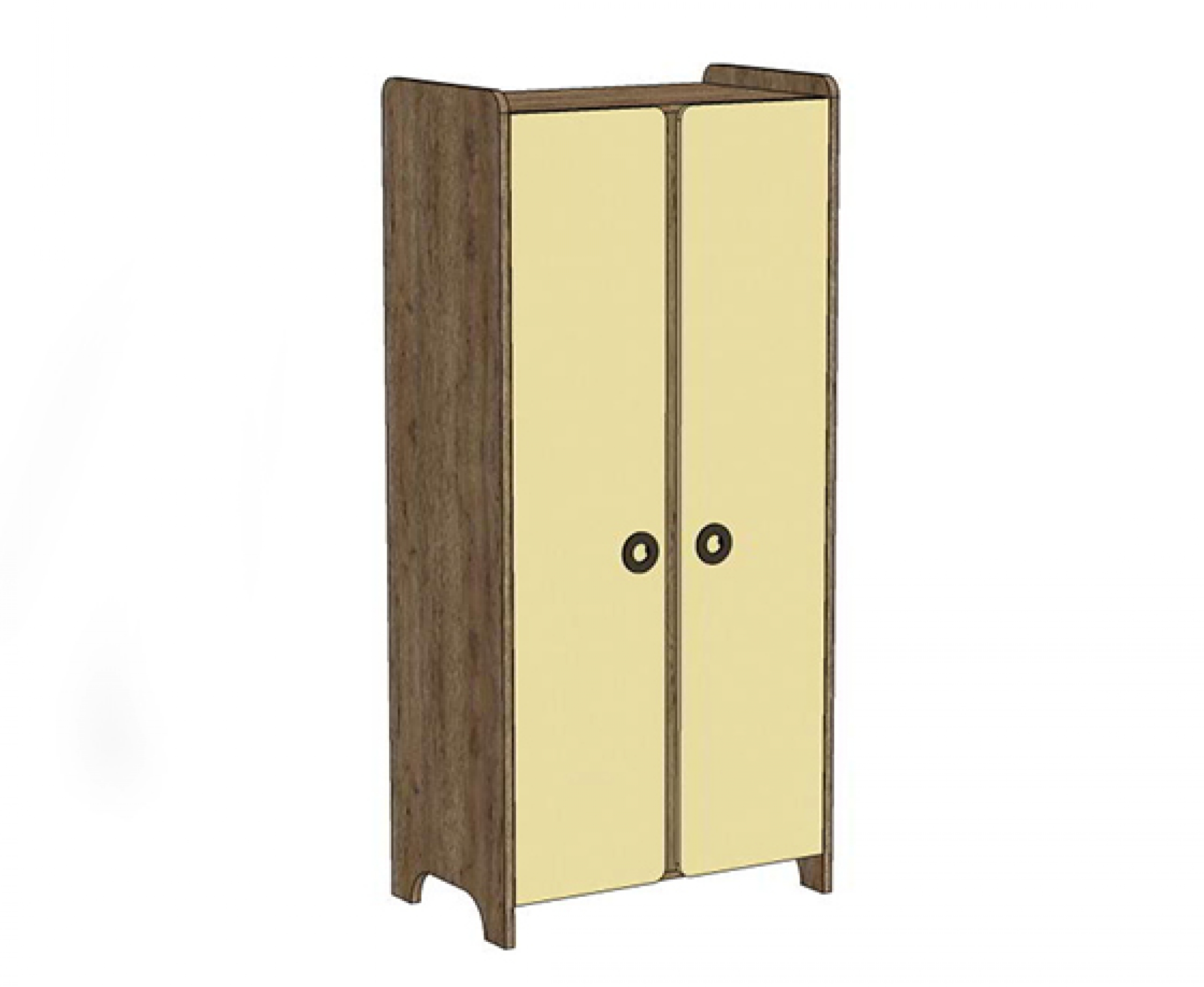 Klюkva шкаф двухдверный