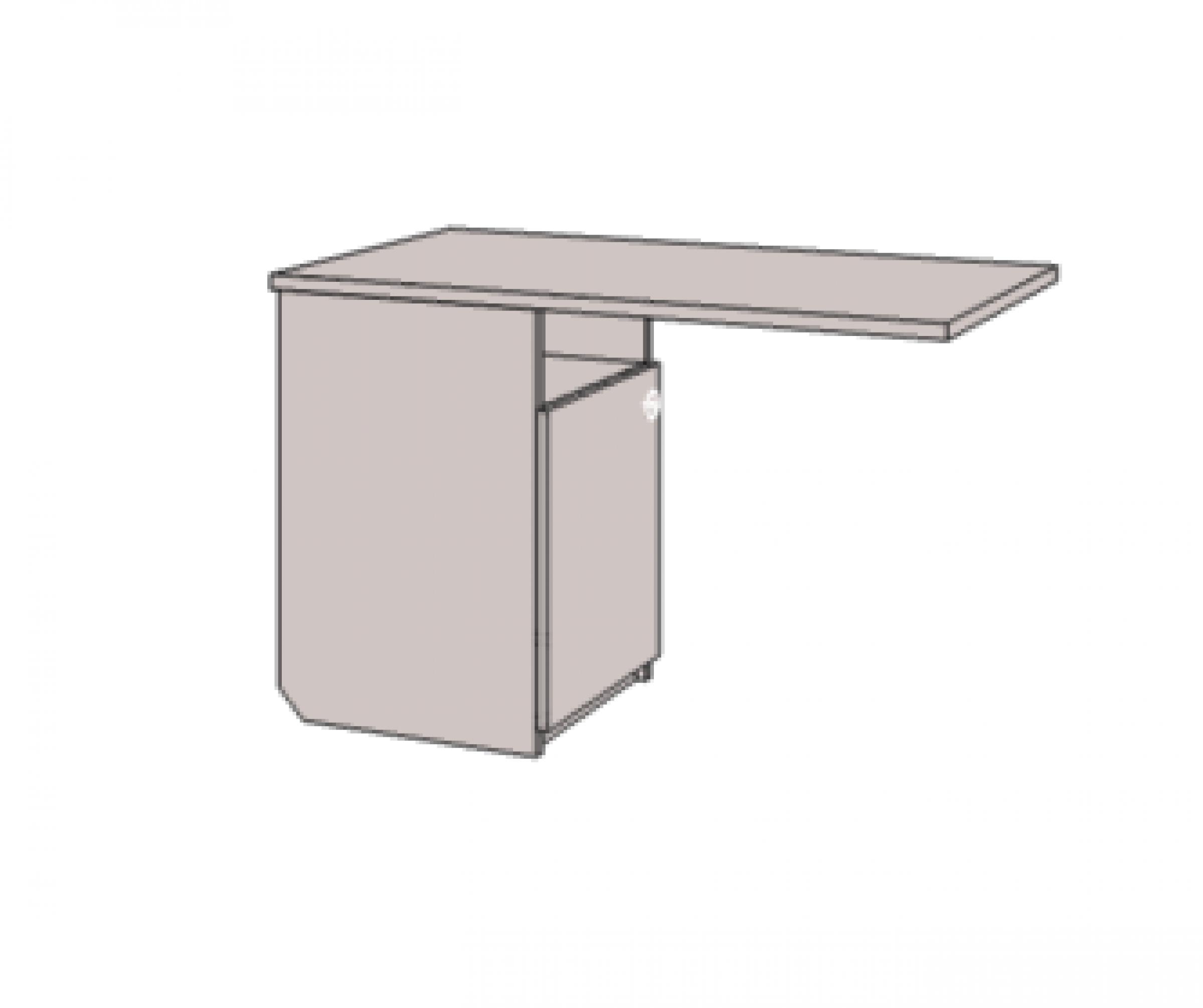 Klюkva Тумба однодверная для комп.стола, левая. Артикул: VT1_40L