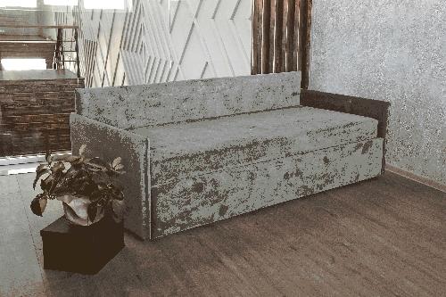 Klюkva диван 1 с высокой спинкой и низкими боковинами (база 1)