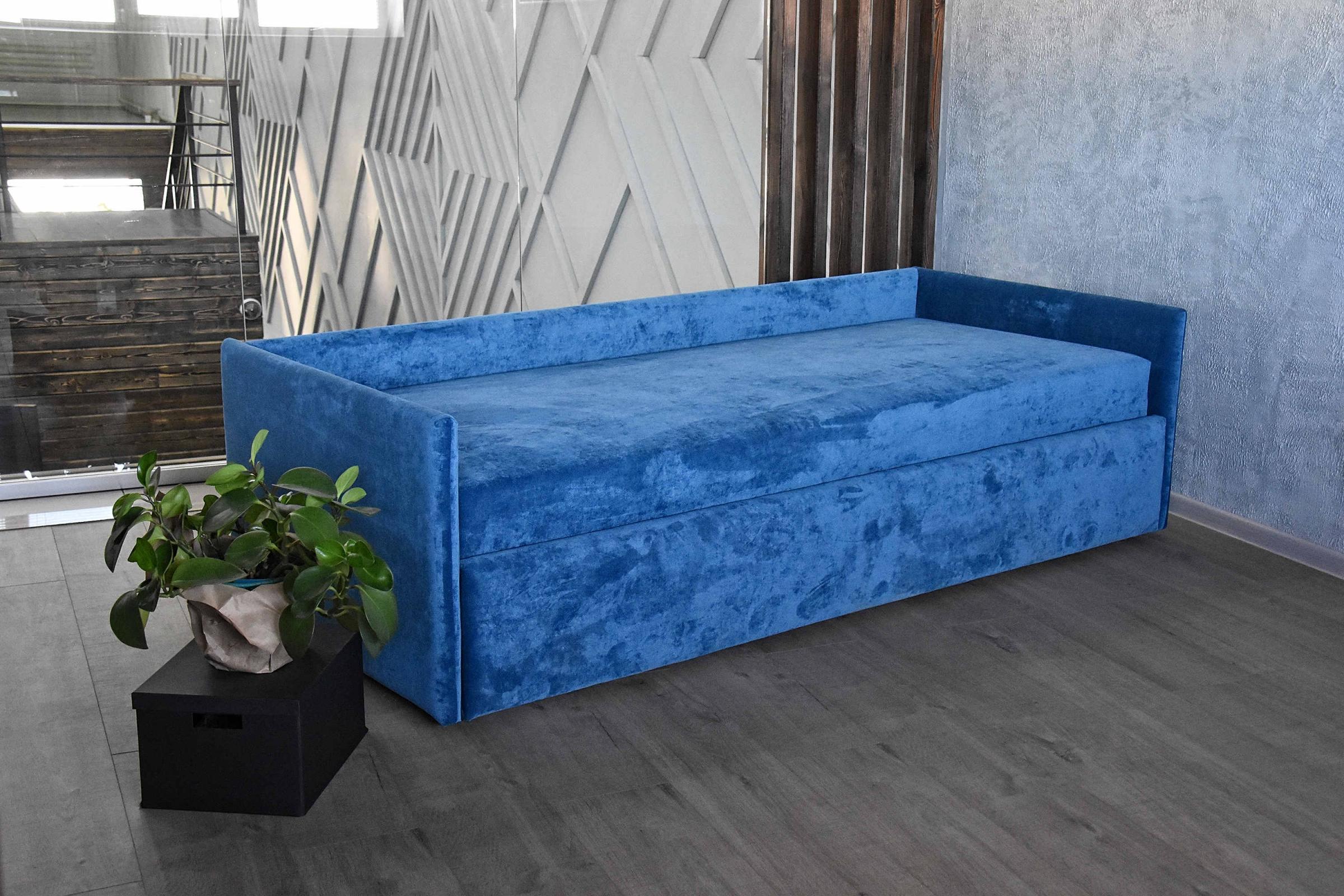 Klюkva диван 2 с низкой спинкой и низкими боковинами (база 2)