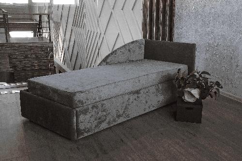 Klюkva диван Канапе 1 правый со спинкой