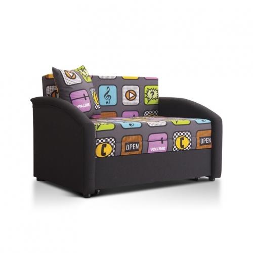 Детский мини-диван Даня (принт айфон)