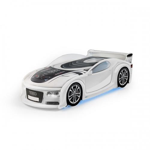 Futuka Kids кровать-машина UNO Ауди 4 (цвет белый)