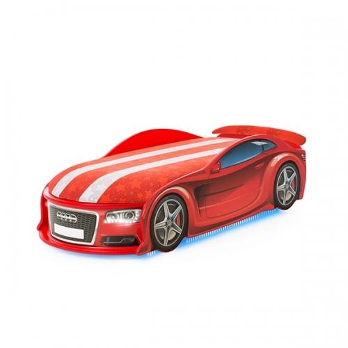 Futuka Kids кровать-машина UNO Ауди 6 (цвет красный)