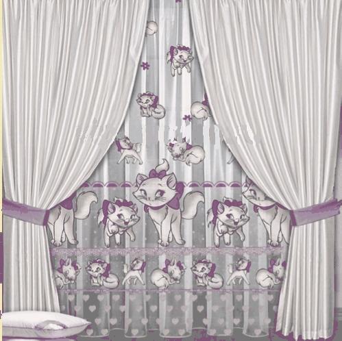 Sweet Dream тюль в детскую комнату (органза)