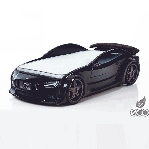 Futuka Kids кровать-машина Вольво-EVO (черный)