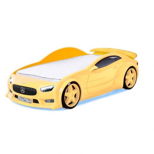 Futuka Kids кровать-машина Мерседес-EVO (желтый)