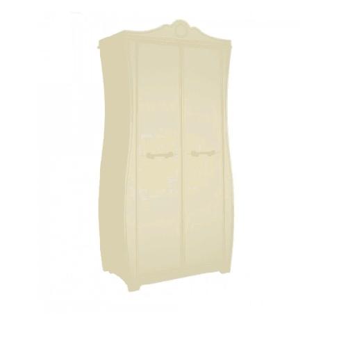 Klюkva шкаф двухдверный, с полками