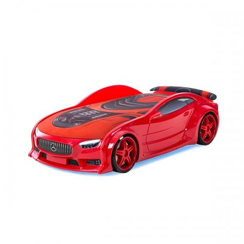 Кровать-машина Мерседес-NEO (красный)