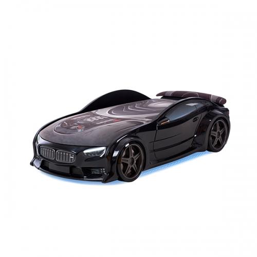 Кровать-машина БМВ-NEO (черный)