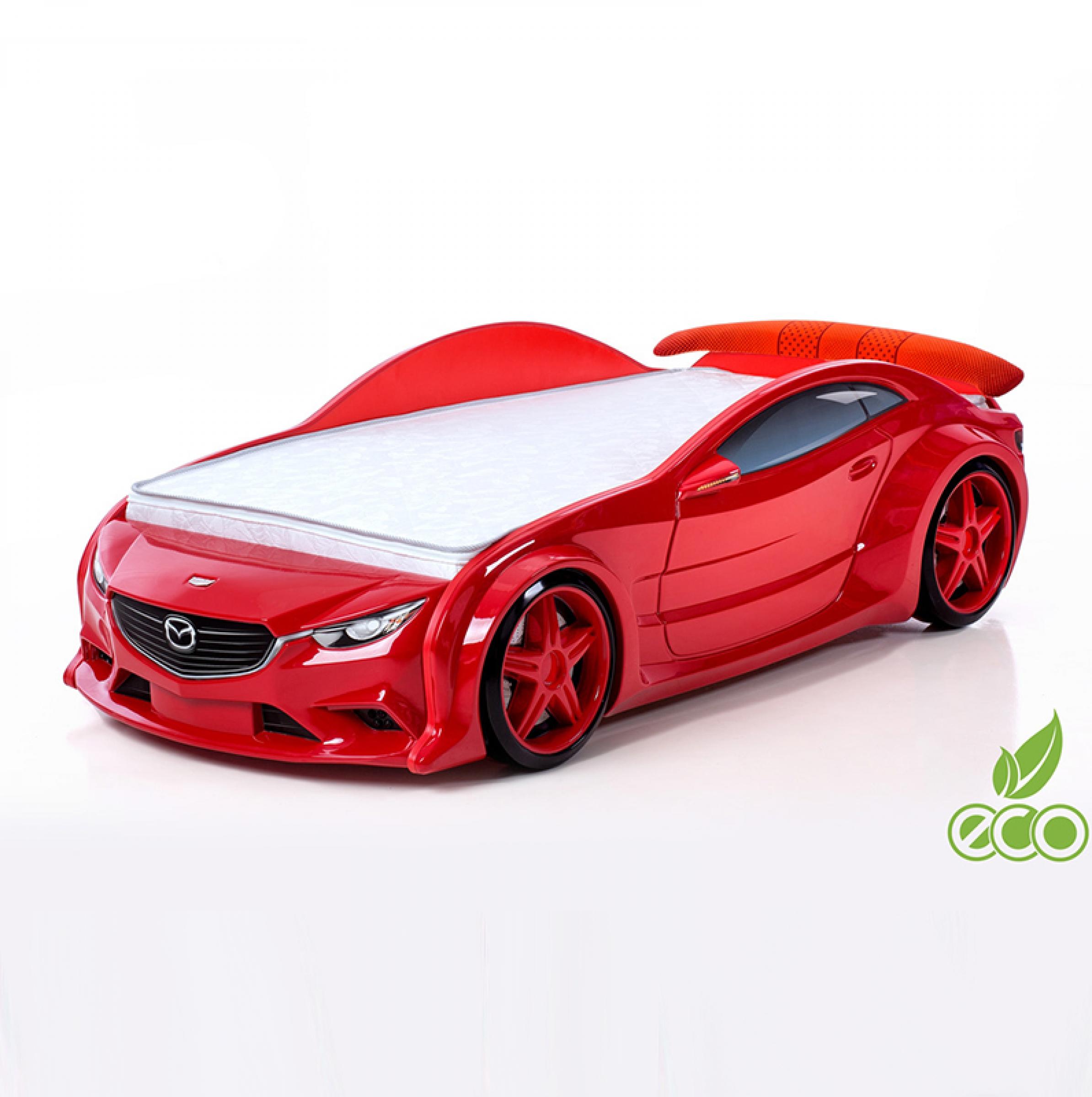 Futuka Kids кровать-машина Мазда-EVO (красный)