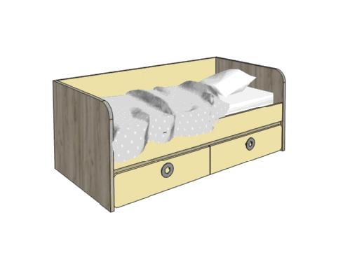 Klюkva кровать- диванчик с 2-мя ящиками арт: МВ3