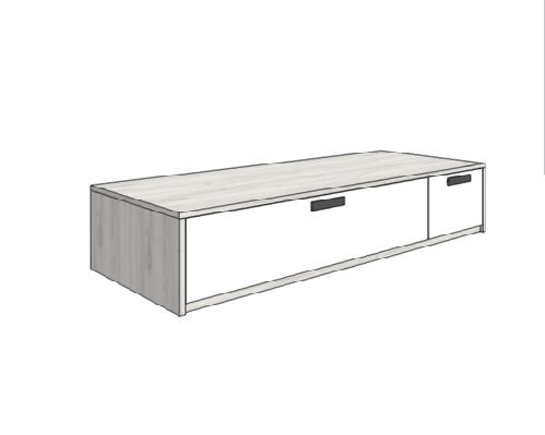 Klюkva кровать-диван с 2-мя ящиками (высота 42,5 см). арт: BS_02L/R