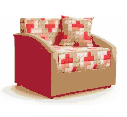 Акция! Ф-ка Мирлачева недорогой диван в детскую Даня (принт лего)