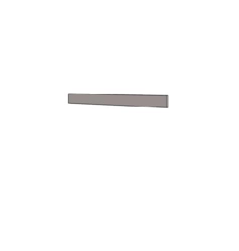 Klюkva Борт декоративный для комп.стола (max=2750). Артикул: VWF_длина в мм