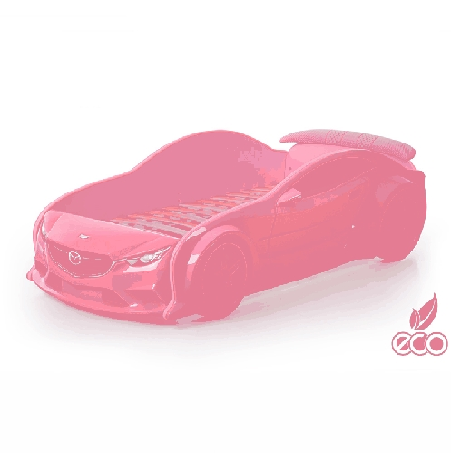 Кровать-машина Мазда-EVO (розовая)